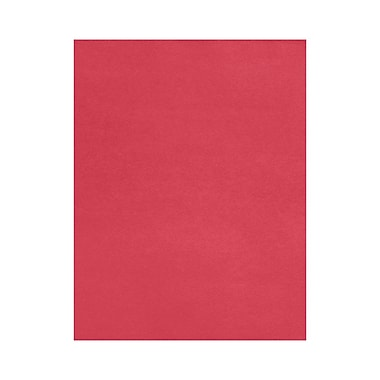 LUX 8 1/2 x 11 Cardstock, Holiday Red, 50/Box (81211-C-20-50)