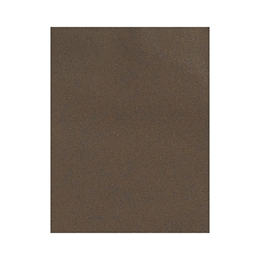 LUX 8 1/2 x 11 Paper 1000/Box, Chocolate (81211-P-25-1000)