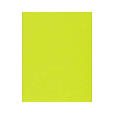 LUX 8 1/2 x 11 Paper, Electric Green, 50/Box (81211-P-32-50)