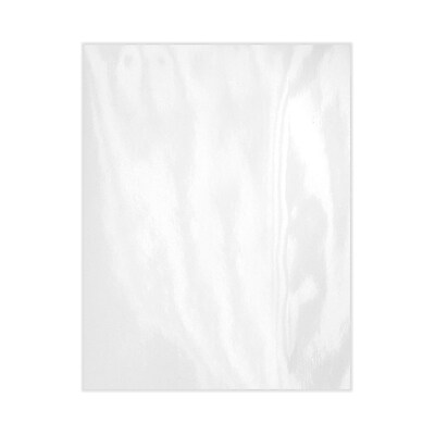 Lux Cardstock 8.5 x 11 inch Glossy White 50/Pack