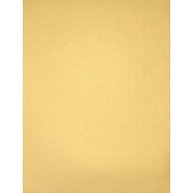 LUX 8 1/2 x 11 Cardstock, Gold Metallic, 50/Box (81211-C-40-50)