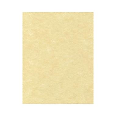 LUX 8 1/2 x 11 Cardstock, Gold Parchment, 50/Box (81211-C-41-50)