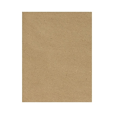 LUX 8 1/2 x 11 Cardstock 50/Box, Grocery Bag (81211-C-46-50)
