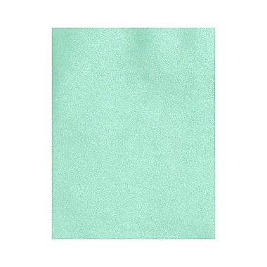 LUX ? Papier 13 x 19 po, vert lagon métallisé, 1000/boîte (1319-P-M50-1000)