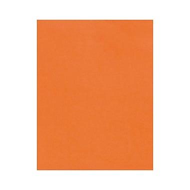 LUX 8 1/2 x 11 Cardstock, Mandarin, 500/Box (81211-C-55-500)
