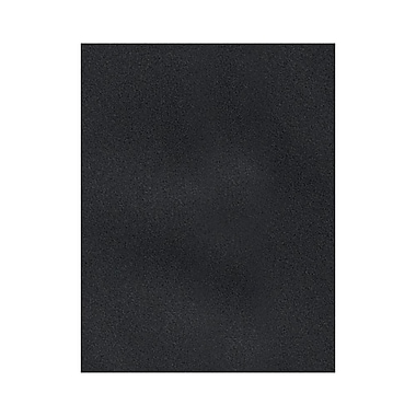 LUX 8 1/2 x 11 Cardstock 50/Box, Midnight Black (81211-C-56-50)