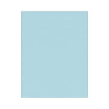 LUX - Papier cartonné 8 1/2 x 11 po, bleu pastel, 500/boîte (81211-C-64-500)