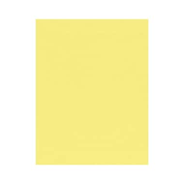 LUX 8 1/2 x 11 Paper, Pastel Canary, 500/Box (81211-P-65-500)