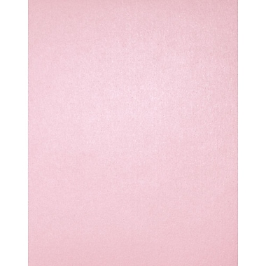LUX 8 1/2 x 11 Cardstock, Rose Quartz Metallic, 500/Box (81211-C-75-500)