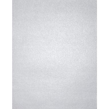 LUX 8 1/2 x 11 Cardstock, Silver Metallic, 1000/Box (81211-C-78-1000)