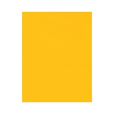 LUX 8 1/2 x 11 Cardstock, Sunflower, 500/Box (81211-C-84-500)