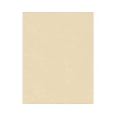 LUX 8 1/2 x 11 Cardstock, Tan, 1000/Box (81211-C-86-1000)