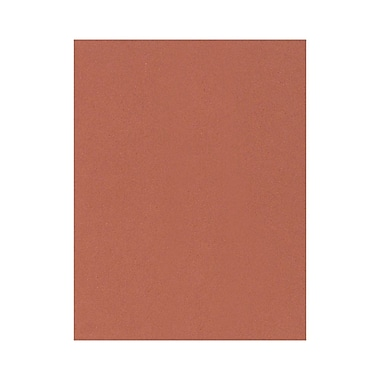 Lux Cardstock 8.5 x 11 inch Terracotta 50/Pack