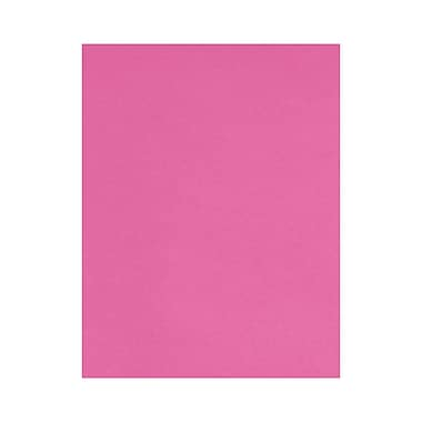 LUX 8 1/2 x 11 Paper, Bright Fuchsia, 50/Box (81211-P-15-50)