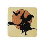Golden Hill Studio Witch w/ Outline Coaster (Set of 8)