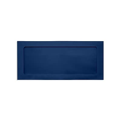 Lux Full Face #10 Window Envelopes, Navy 4 1/8 x 9 1/2 inch 50/Pack