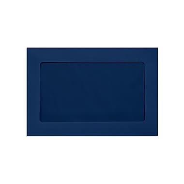 LUX 6 x 9 Full Face Window Envelopes, Navy, 1000/Box (FFW-69-103-1000)