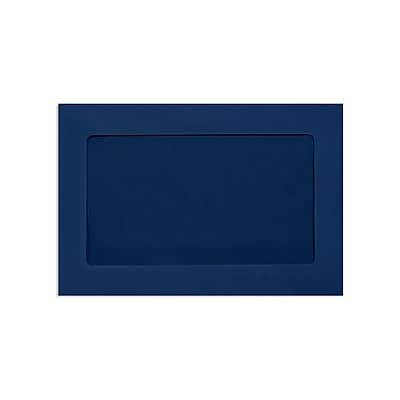 Lux Window Envelopes, Navy 6 x 9 inch 50/Pack