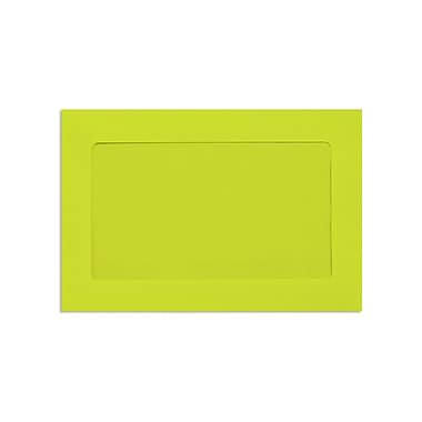 LUX 6 x 9 Full Face Window Envelopes, Wasabi, 250/Box (FFW-69-L22-250)