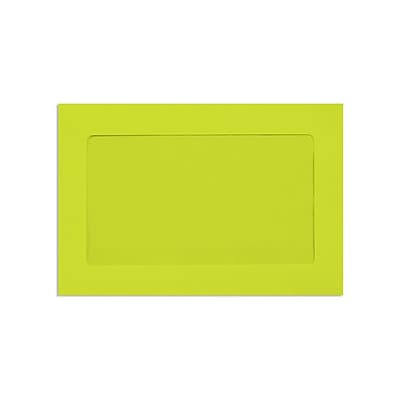 Lux Full Face #10 Window Envelopes Wasabi 6 x 9 inch 250/Pack