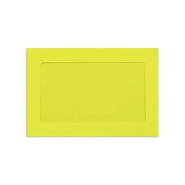 LUX 6 x 9 Full Face Window Envelopes, Citrus, 500/Box (FFW-69-L20-500)
