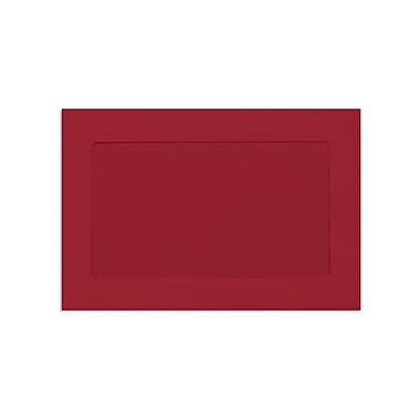 LUX 6 x 9 Full Face Window Envelopes, Ruby Red, 50/Box (FFW-69-18-50)