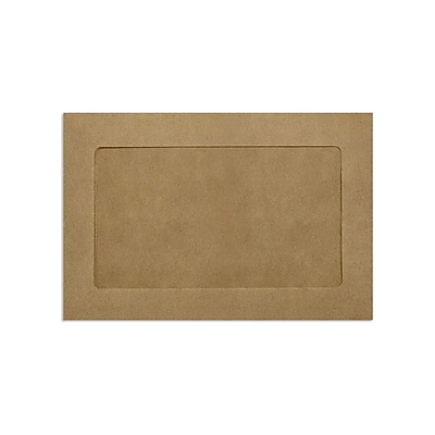 Lux Full Face Window Envelopes, Grocery Bag 6 x 9 inch 1000/Pack