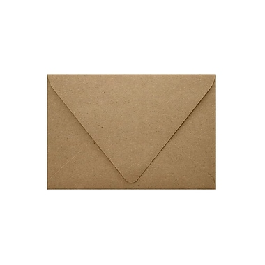 LUX A1 Contour Flap Envelopes (3 5/8 x 5 1/8), Grocery Bag, 50/Box (1865-GB-50)