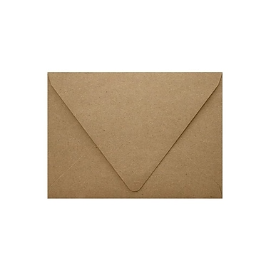 LUX A9 Contour Flap Envelopes (5 3/4 x 8 3/4), Grocery Bag, 1000/Box (1895-GB-1000)