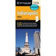Universal Map Indianapolis Indiana Laminated Map