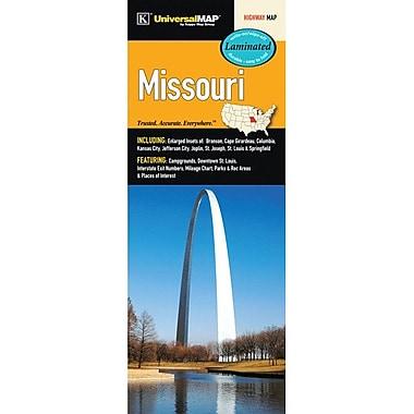 Universal Map Missouri Laminated Map