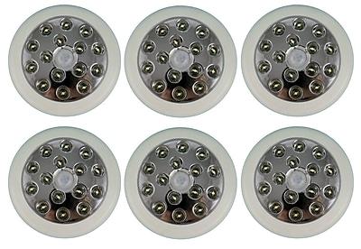 ADX LED Wall Light 6/Pack, White