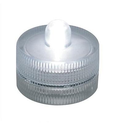 ADX LED Underwater Tea Light, Clear