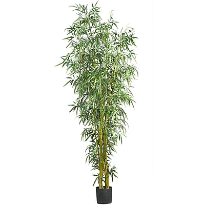 Nearly Natural 5195 Bamboo Silk Tree 8-feet