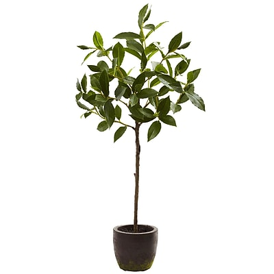 Nearly Natural 5423 Topiary with Decorative Planter 29 x 16 inch Green