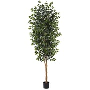 Nearly Natural 5427 Ficus Tree With Leaves 8-Feet Green