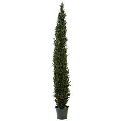 Nearly Natural 5430 Cedar Pine Tree 8-feet Green