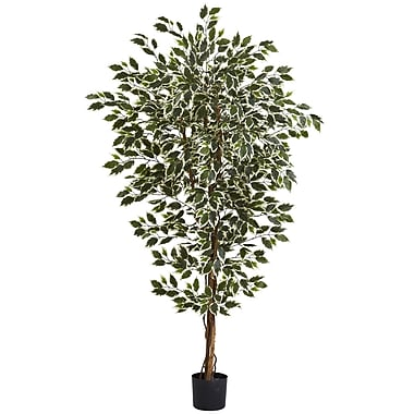 Nearly Natural 5437 Ficus Tree, 72 x 40 inch