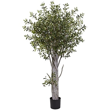 Nearly Natural Olive Tree 72 x 40 inch Green (5439)