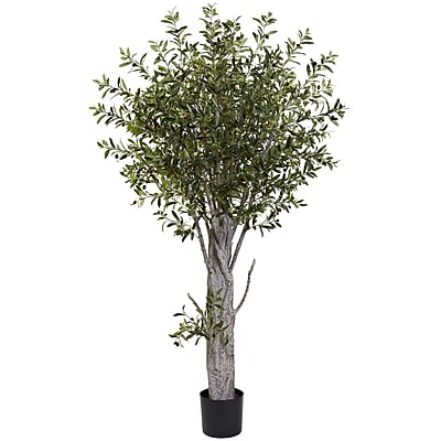 Nearly Natural 5439 Olive Tree 72 x 40 inch Green