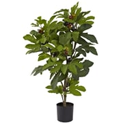 Nearly Natural 5440 Fig Tree 32 x 20 inch Green