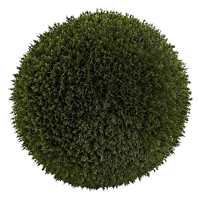 Nearly Natural 6807 Cedar Ball Green