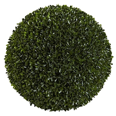 Nearly Natural 6808 Boxwood Ball Silk Plant