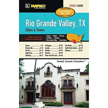 Universal Map Rio Grande Valley Cities and Towns Atlas