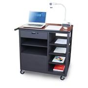 """Marvel® 36"""" Steel Presentation Carts With Four Side-Shelves"""