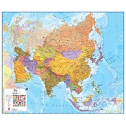 Waypoint Geographic Asia 1:11 Laminated Wall Map