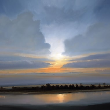 Portfolio Canvas Parting Clouds Painting Print on Wrapped Canvas