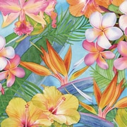Portfolio Canvas Tropical Painting Print on Wrapped Canvas