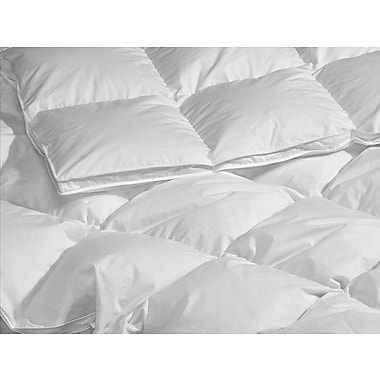 Highland Feathers 260 Tc 650 Loft Summer Fill Queen Size 27Oz European White Down Duvet