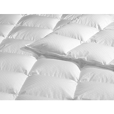 Highland Feathers 340 Tc 650 Loft Standard Fill King Size 35Oz White Goose Down Duvet